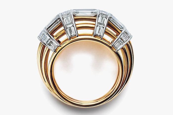 Кольцо Жана Шлюмберже с бриллиантами
