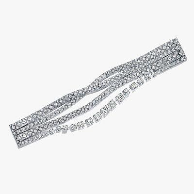 Бриллиантовый браслет из линейки Ribbons