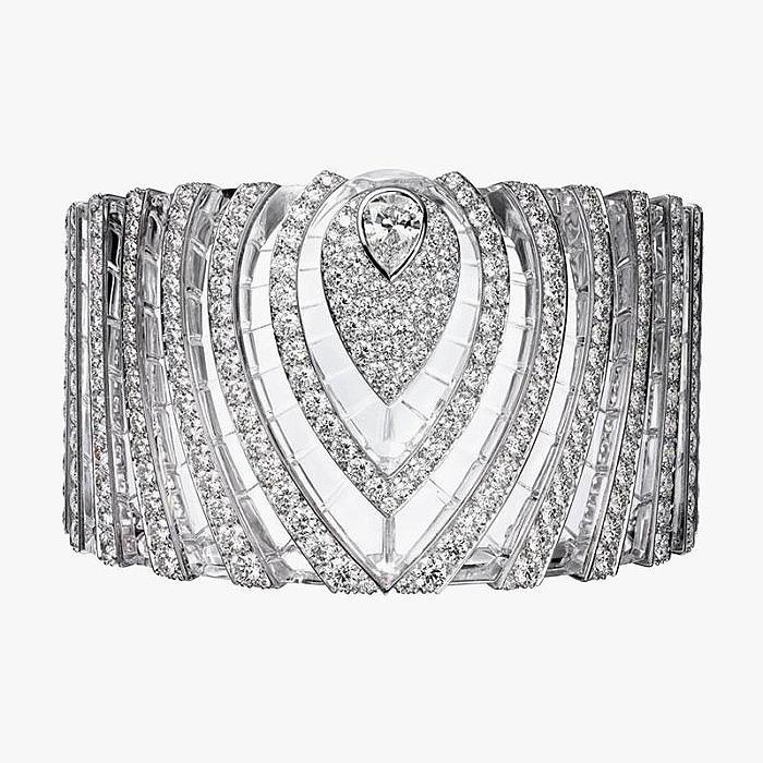 Широкий браслет с бриллиантами из коллекции L'Odyssée de Cartier