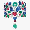 Браслет Tutti Frutti от Cartier с бриллиантовым паве