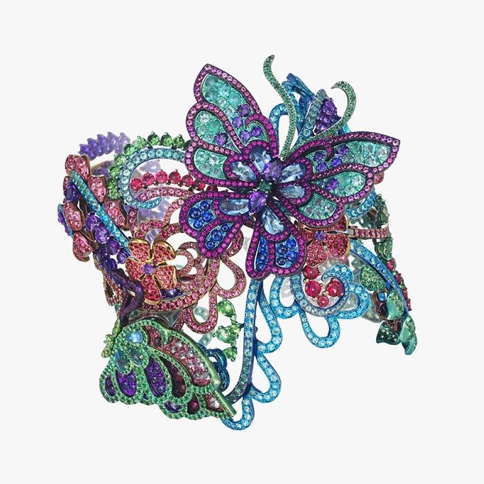 Браслет Chopard с отсоединяющимися бабочками