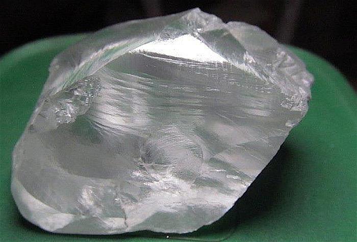139-каратный алмаз из шахты Куллинан