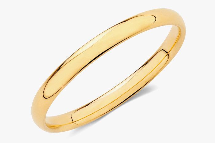 Кольцо из 18-каратного желтого золото. Фото: Michael Hill