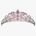 Тиара с розовым бриллиантами от Asprey