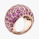 Кольцо с розовыми сапфирами от de Grisogono