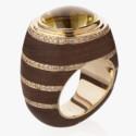 Кольцо из черного эбенового дерева от Markin