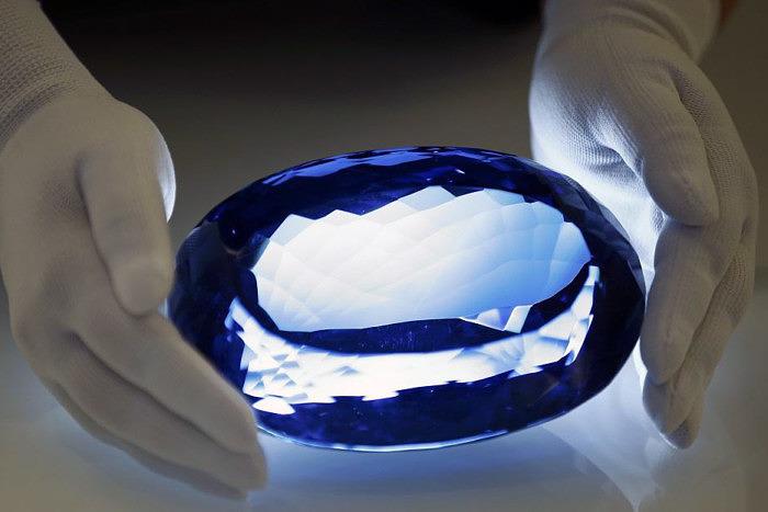 The Ostro Stone blue topaz