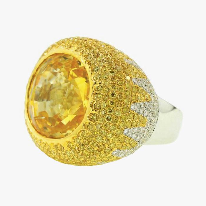 Кольцо с бриллиантами от Yael Designs