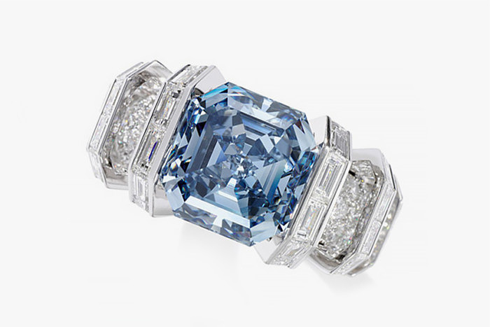Бриллиант Sky Blue Diamond