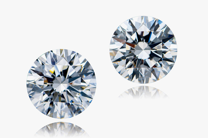 Бриллианты весом 31,19 и 30,53 карата