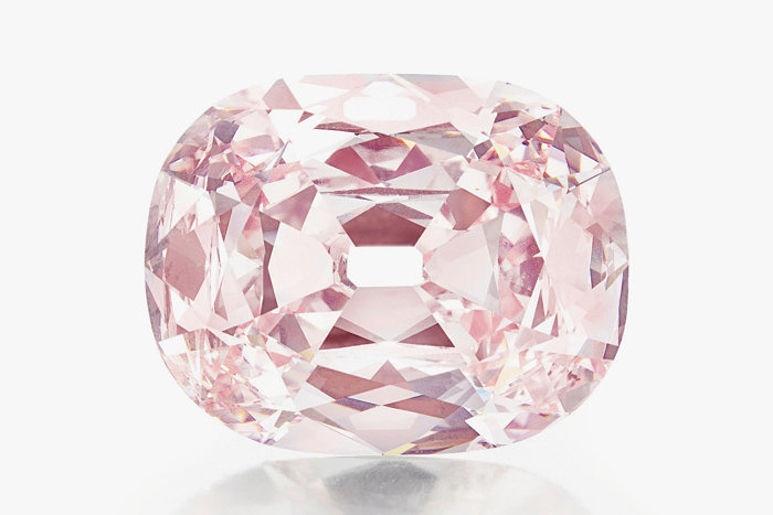 Розовый бриллиант Princie