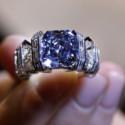 Кольцо Cartier с великолепным голубым бриллиантом будет продано с аукциона