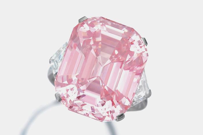 Розовый бриллиант Graff Pink