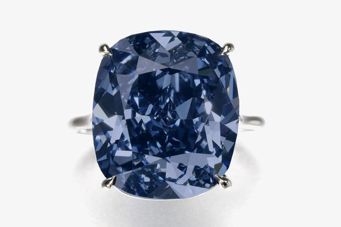 Голубой бриллиант Blue Moon of Josephine