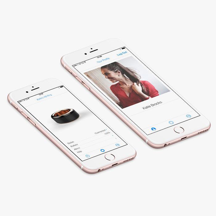 HB Ring соединяется со смартфоном с помощью Bluetooth