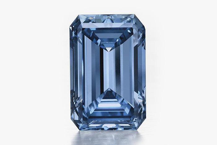 Голубой бриллиант Oppenheimer Blue