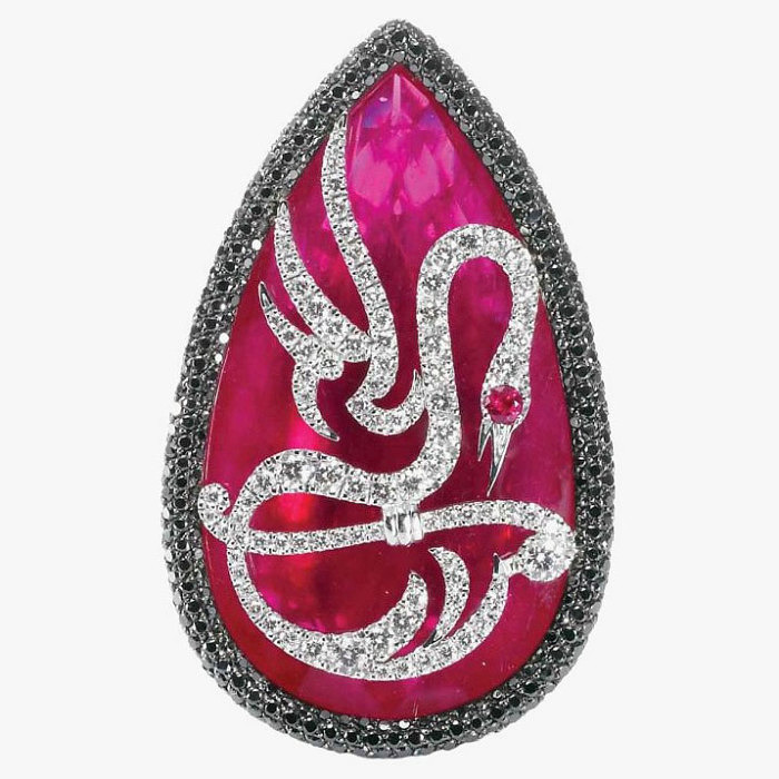 Кольцо Passione от Palmiero с рубином