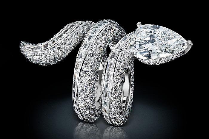 Бриллиантовое кольцо Folies от de Grisogono