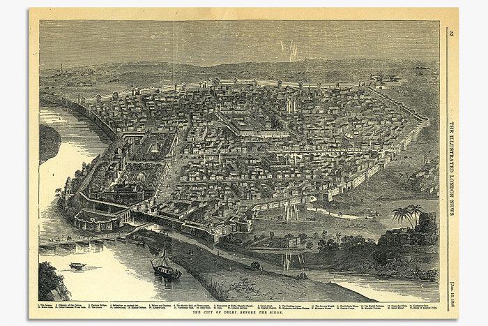 Дели до осады. London News, 1858 год. Фото: columbia.edu
