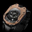 Часы Urwerk Raging Gold стоимостью 65 000 долларов