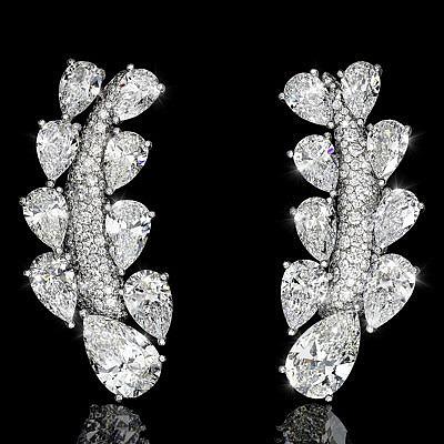 Бриллиантовые серьги Folies от de Grisogono