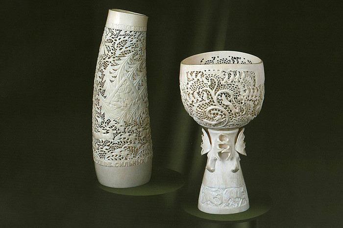 Изделия из резной кости, автор — Буторин Николай Дмитриевич