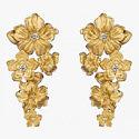 Золотые серьги, украшенные бриллиантами, от Carrera y Carrera