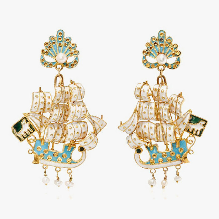 Серьги из коллекции Robin Katz Vintage Jewels