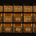 Шоколадное ассорти в золоте от французского шоколатье Паскаля Каффе