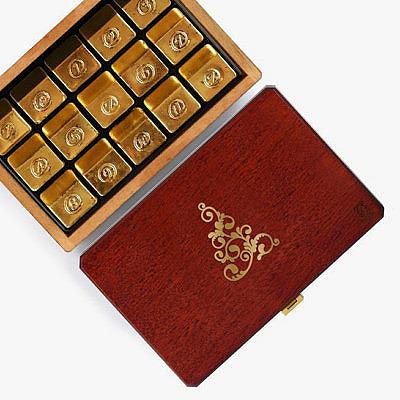 Шоколад Sapphire Gold от zChocolat
