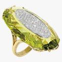 Кольцо Roma Aphrodite с бриллиантами и кварцем от Casato