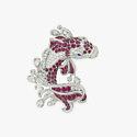Брошь с рубинами и бриллиантами от Graff Diamonds