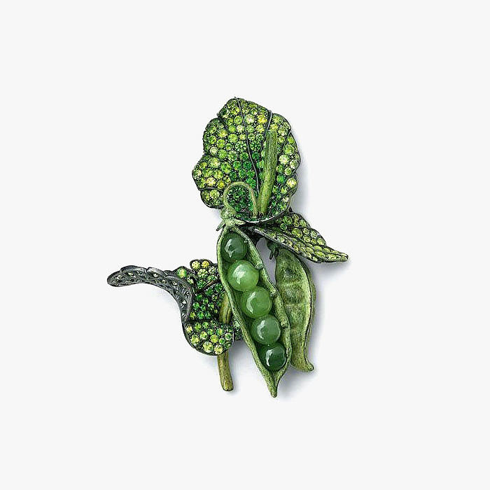 Зеленый горошек от Hemmerle