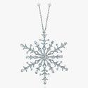 Платиновая подвеска-снежинка с бриллиантами от Tiffany & Co.