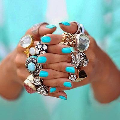 Большие кольца