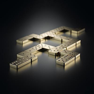 Золотое домино Lieb Manufaktur