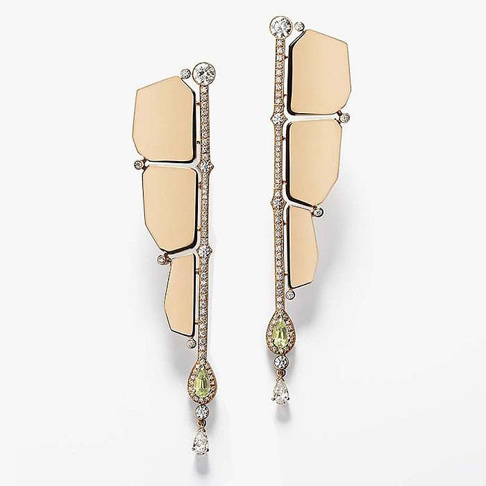 Серьги Niloticus Boutons d'Oreilles от Hermès