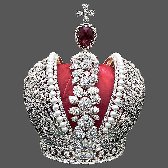 Копия Большой короны Российской Империи