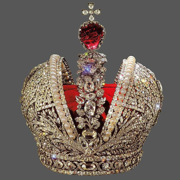 Оригинал Большой короны Российской Империи