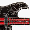 Инкрустированная бриллиантами гитара Fender Studioliner