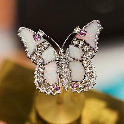 Автоматон бабочка Van Cleef & Arpels Fée Ondine