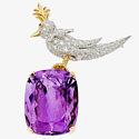 Брошь с аметистом и бриллиантами от Жана Шлюмберже для Tiffany & Co.