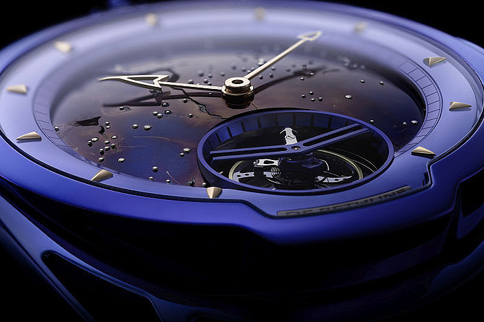 Часы DB28 Kind Of Blue Tourbillon Meteorite от De Bethune