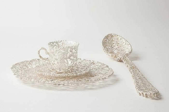 Ювелирная посуда Вибке Маурер