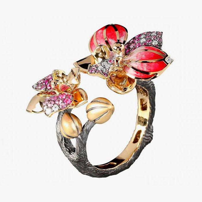 Кольцо из коллекции Botanic от Mousson Atelier
