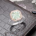 Редкий зеленый бриллиант предложат на аукционе Bonhams