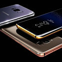 Samsung Galaxy S8 и S8+ в золоте и платине