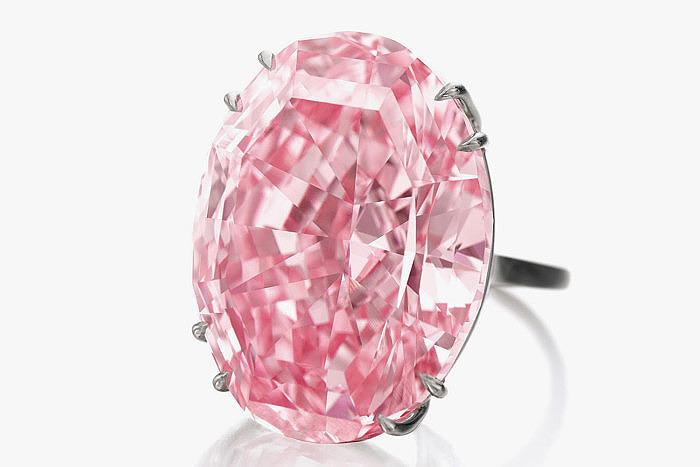 Бриллиант Pink Star 59, 6 карата
