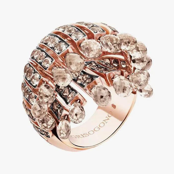 Кольцо с коричневыми бриллиантами от de Grisogono