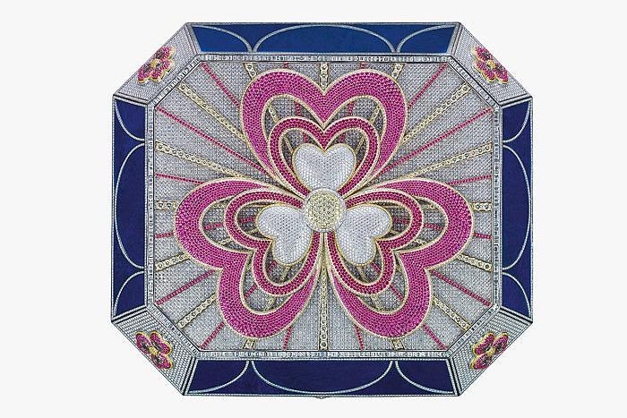 Драгоценный кофр Flower of Eternity от Mouawad